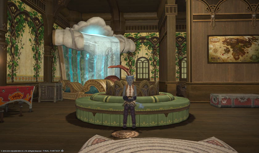A look at personal rooms in ffxiv aywren sojourner for Best garden rooms
