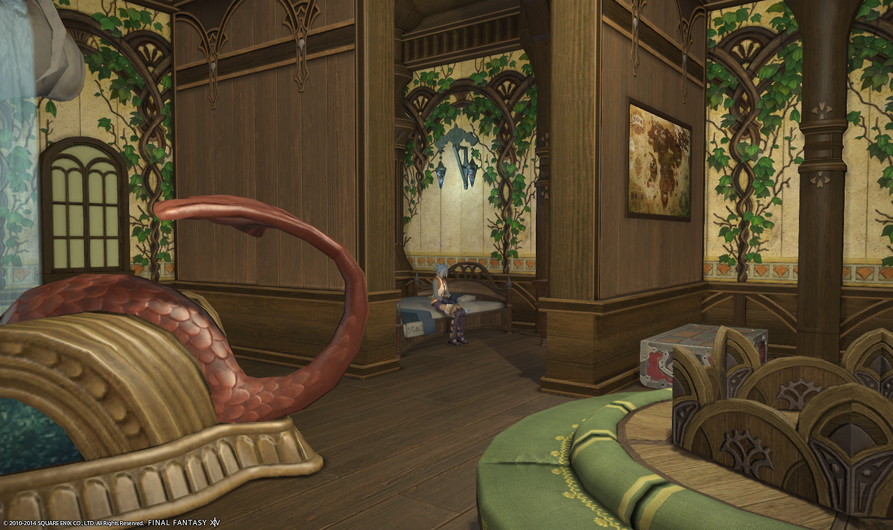 A look at personal rooms in ffxiv aywren sojourner gaming and geek life - My personal ideas for decorating my living room ...