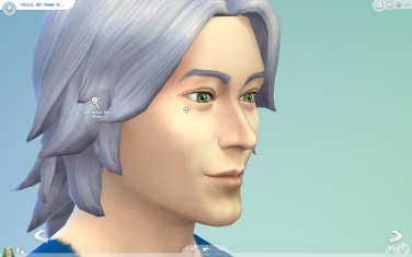 Editing Ben's Eyes in CAS