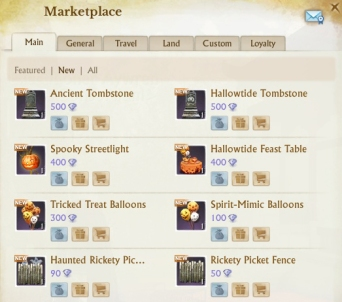 You want Halloween decorations? Pay the Marketplace!