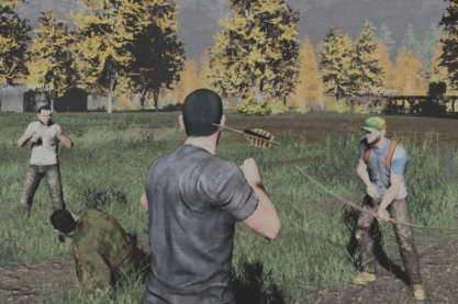I used to be a zombie hunter, but then I took an arrow to the head... Only on PVE servers. :)