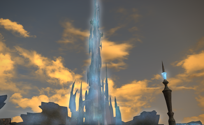 The Crystal Tower of FFXIV