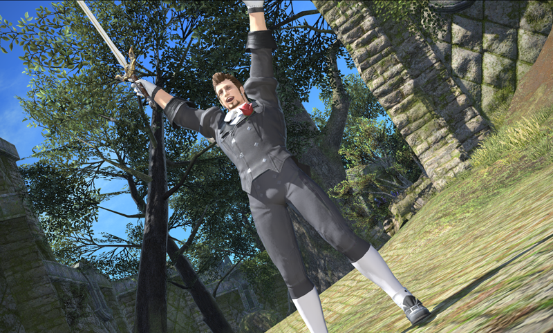 Hildibrand is also excited for the Gold Saucer!