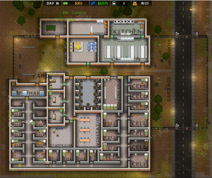 Yay! This prison works!