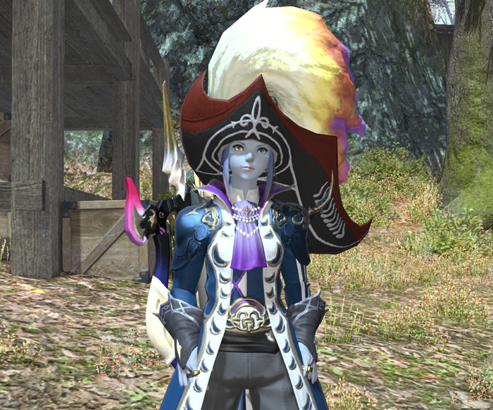 I discovered you can dye the gambler's coat!