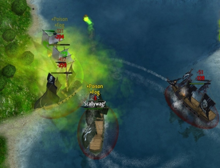 Stupid pirates and their stupid poison fog barrels!