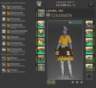 FFXIV: Tips for Leveling Crafting and Gathering Classes for