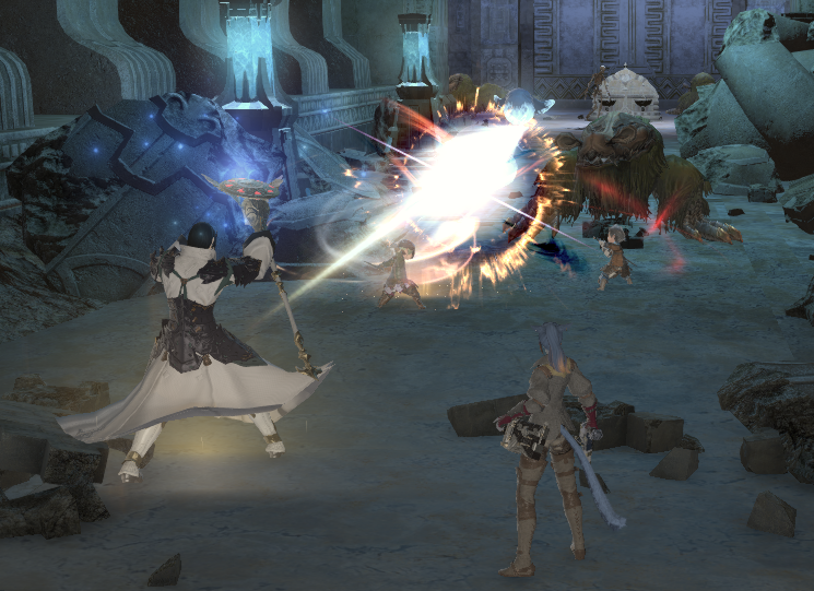 Running Quarn in a FC leveling group.
