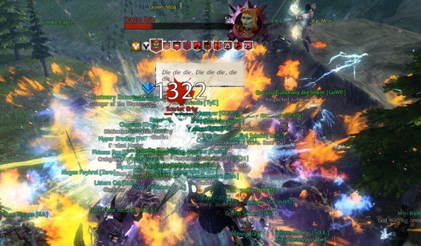 Back in August 2013, when there would NEVER be an expansion, and everyone turned out to beat down Scarlet.