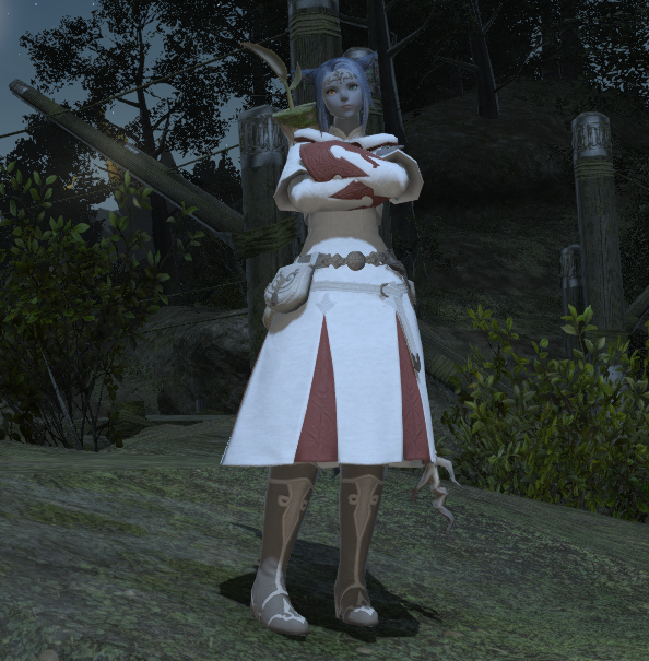 Finally wearing those White Mage robes after all these years!
