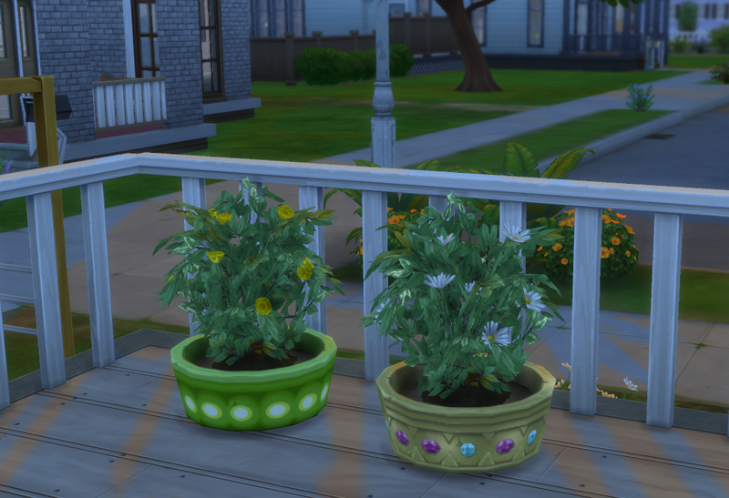 New Spring Challenge planters obtained!