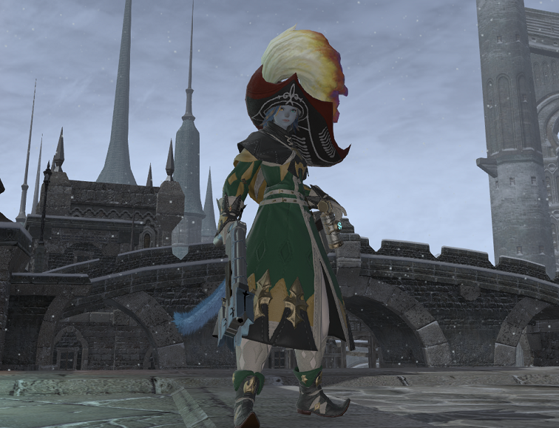 ffxiv level 50 machinist finally aywren sojourner gaming and
