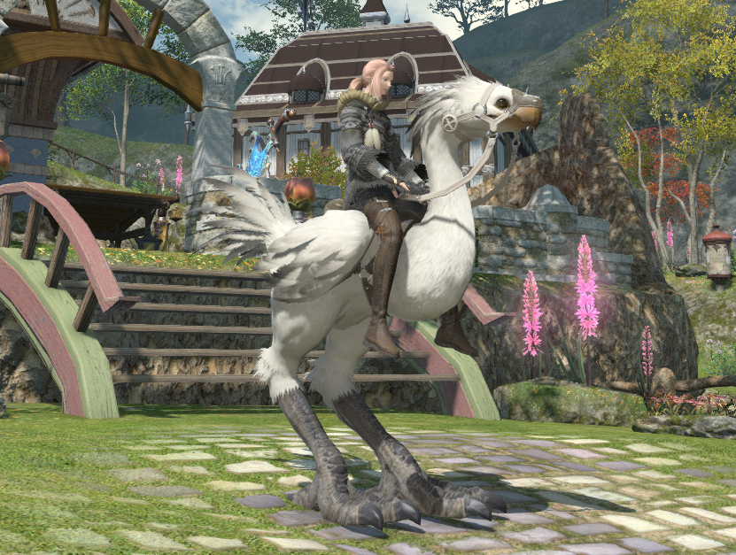 FFXIV: White Chocobo! – Aywren Sojourner: Gaming and Geek Life