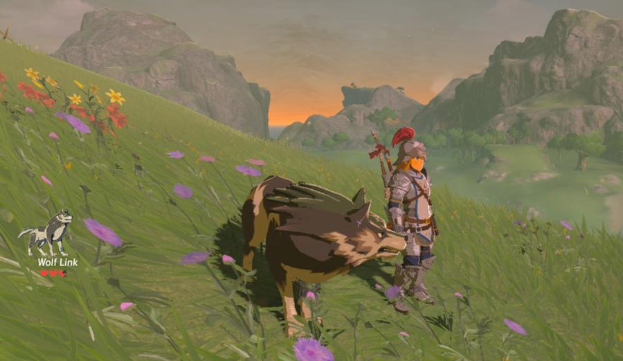 Zelda BotW: Wolf Link