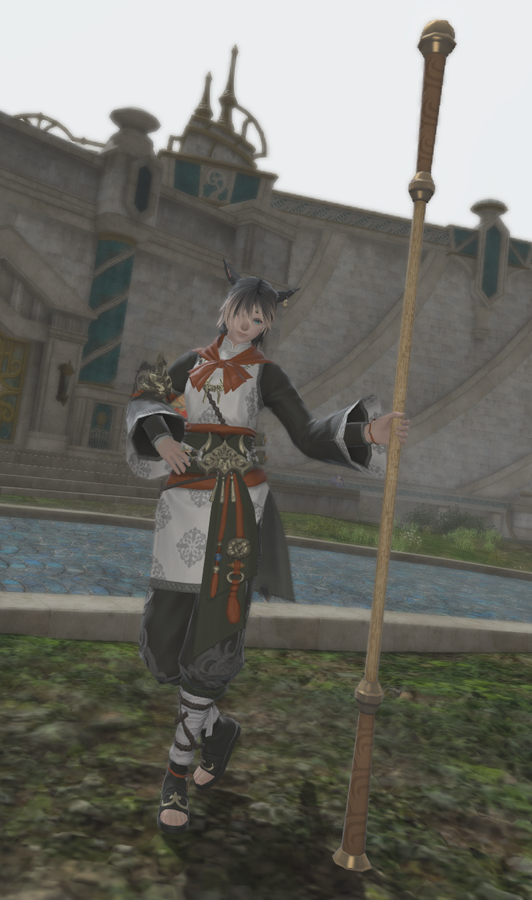 FFXIV: Cloud Mount & Eastern Journey Attire on Different