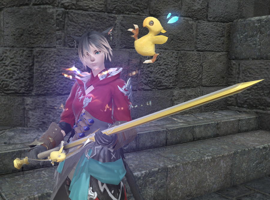 FFXIV: Red Mage Main –  Level 61 Ding!