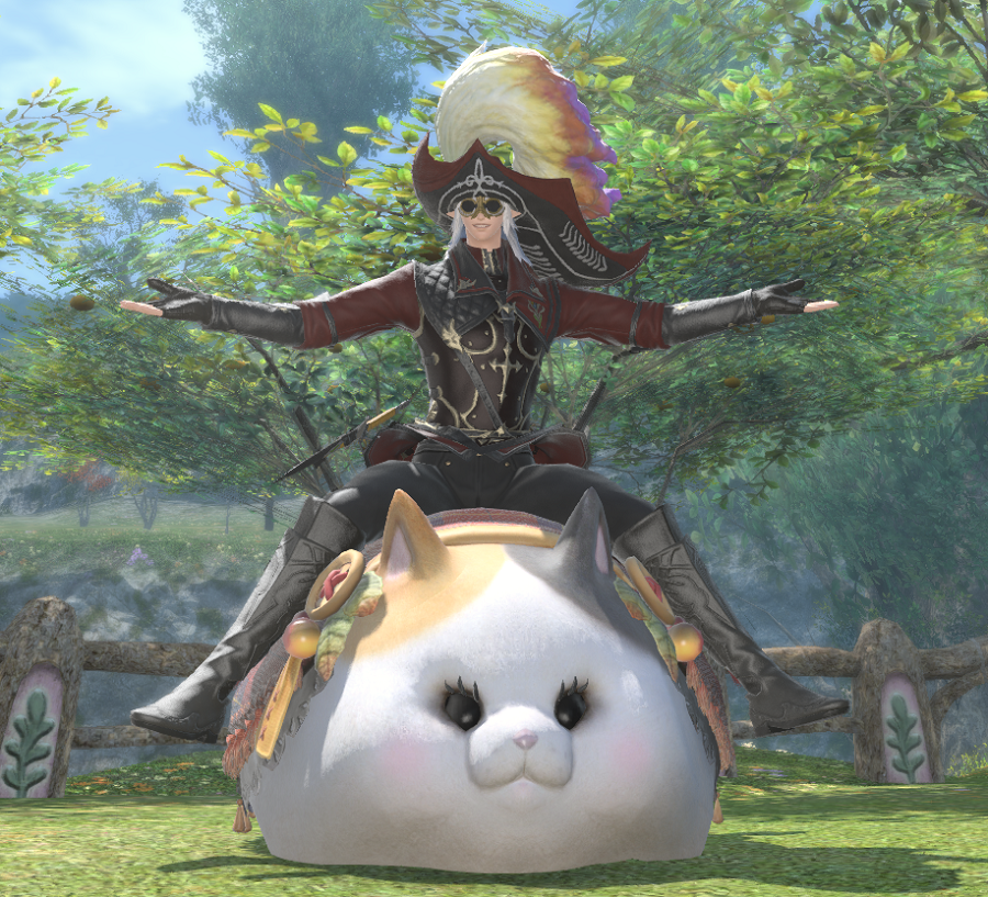FFXIV: Fatter Cat Mount – Aywren Sojourner: Gaming and Geek Life